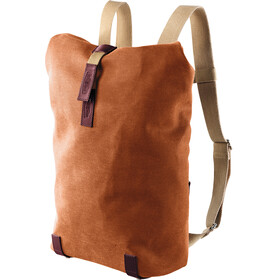Brooks Pickwick Canvas Rucksack Small goose beak/maroon